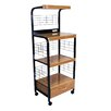ORE Furniture Microwave Cart With Birch Top