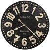 "Howard Miller® Oversized 36"" Fulton Street Wall Clock"