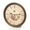"Howard Miller® Moment In Time Savannah Botanical VII Quartz 15"" Wall Clock"