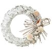 Midwest Seasons Shell Paper Wreath