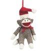 Midwest Seasons Specialty Sock Monkey Santa Ornament
