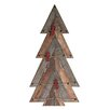 Midwest Seasons Lodge Timber Tree Card Holder