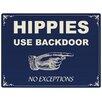 Red Hot Lemon Hippies Vintage Advertisement Plaque