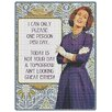 Red Hot Lemon Sign - I Can Only Please Graphic Art Plaque