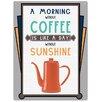 Red Hot Lemon Sunshine Coffee Vintage Advertisement
