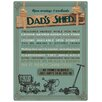 Red Hot Lemon Dad's Shed Vintage Advertisement