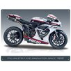 "Red Hot Lemon Schild ""Ducati 848 Evo"", Retro-Werbung"