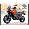"""Red Hot Lemon Schild """"KTM Adventure 1190"""", Retro-Werbung"""