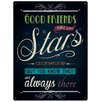 Red Hot Lemon Good Friends are like Stars Vintage Advertisement Plaque