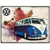 Red Hot Lemon Schild Volkswagen VW Camper Grunge, Grafikdruck
