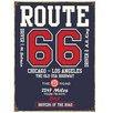 Red Hot Lemon Route 66 College Style Vintage Advertisement Plaque