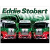 Red Hot Lemon 300x410mm Metal Wall Sign - Eddie Stobart Trio