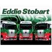 Red Hot Lemon Schild Eddie Stobart Trio, Retro-Werbung
