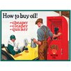 Red Hot Lemon Shell How To Buy Oil Vintage Advertisement Plaque