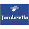 Red Hot Lemon Lambretta Dealer Vintage Advertisement Plaque