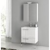 "ACF Bathroom Vanities New Space 23.4"" Single Bathroom Vanity Set"
