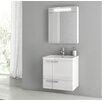 """ACF Bathroom Vanities New Space 23.4"""" Single Bathroom Vanity Set"""
