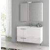 """ACF Bathroom Vanities New Space 39.2"""" Single Bathroom Vanity Set"""