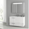 "ACF Bathroom Vanities New Space 39.2"" Single Bathroom Vanity Set"