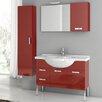 "ACF Bathroom Vanities Phinex 39.4"" Single Bathroom Vanity Set with Mirror"