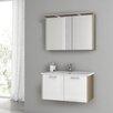 """ACF Bathroom Vanities New Space 32.7"""" Single Bathroom Vanity Set"""