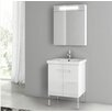 "ACF Bathroom Vanities New York 24.4"" Single Bathroom Vanity Set"