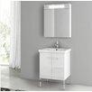 """ACF Bathroom Vanities New York 24.4"""" Single Bathroom Vanity Set"""