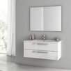 "ACF Bathroom Vanities Dadila 38.2"" Single Bathroom Vanity Set with Mirror"