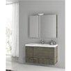 """ACF Bathroom Vanities New Space 39"""" Single Bathroom Vanity Set"""