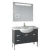 "ACF Bathroom Vanities Phinex 41"" Single Bathroom Vanity Set with Mirror"