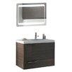 """ACF Bathroom Vanities New Space 32"""" Single Bathroom Vanity Set with Mirror"""
