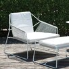 OASIQ Sandur Lounge Chair with Cushion
