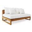 OASIQ Hamilton Double Chaise Lounge with Cushion