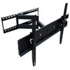 "Mount-it Single Swivel/Articulating Arm Universal 32"" - 65"" Wall Mount LCD/Plasma/LED"