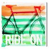 Oliver Gal 'Ride On' by Blakely Home Graphic Art Wrapped on Canvas
