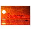 Oliver Gal 'Warm Sunset' by Blakely Home Graphic Art Wrapped on Canvas