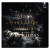 Oliver Gal 'Stars Can't Shine' by Blakely Home Graphic Art Wrapped on Canvas