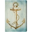 Oliver Gal 'Sea Anchor' by Blakely Home Graphic Art Wrapped on Canvas