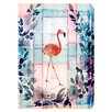 Oliver Gal 'Flamingo Beach' by Blakely Home Graphic Art Wrapped on Canvas