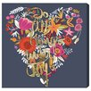 Oliver Gal 'All Joy' by Blakely Home Graphic Art Wrapped on Canvas