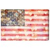 Oliver Gal 'Country America' by Blakely Home Graphic Art Wrapped on Canvas