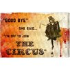 Oliver Gal 'Join The Circus Orange' by Blakely Home Vintage Advertisement Wrapped on Canvas