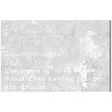 Oliver Gal Pleasant Dreams' by Blakely Home Typography on Canvas