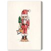 Oliver Gal Nutcracker' by Blakely Home Art Print on Canvas
