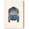 Oliver Gal My Christmas Sweater' by Blakely Home Art Print on Canvas