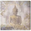 Oliver Gal 'Buddha In Peace' by Blakely Home Graphic Art Wrapped on Canvas