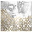 Oliver Gal 'Siddharta Blanc' by Blakely Home Graphic Art Wrapped on Canvas