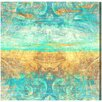Oliver Gal Artana Dreaming of the Sea by Art Print Wrapped on Canvas