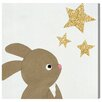 Oliver Gal Bunny and The Stars by Olivias Easel Art Print Wrapped on Canvas