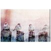 Oliver Gal Good Day Birds by Canyon Gallery Graphic Art Wrapped on Canvas